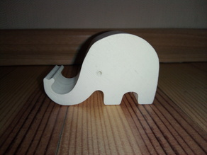 Phone holder elephant