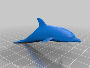 Low Poly Dolphin