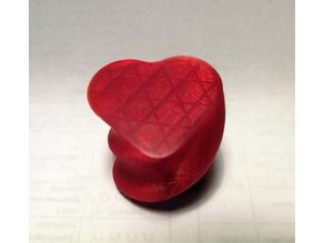Twisted Heart Shaped Box for Jewelry