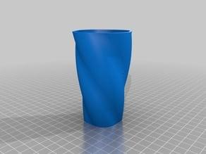 Customizable swirly container
