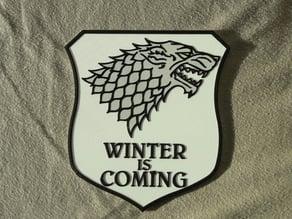Stark sigil - Game of thrones banner