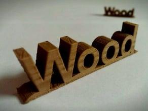 Wood Thing!