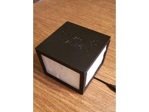 Customizable Lithophane Box - ANY SIZE!