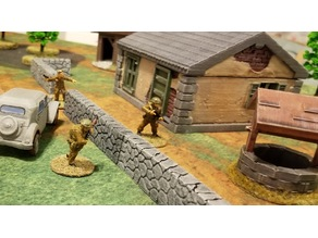 28mm Normandy Bungalow -