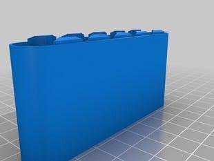 Battery Case AA 1x6 Bottom