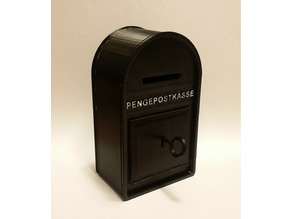Danish PENGEPOSTKASSE (Money Mail Box)