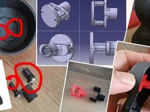 Fix Ipcam foscam issues / Réparer une casse mecanique Foscam