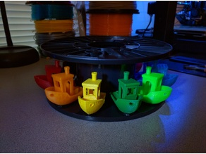 Filament Spool Benchy Stand