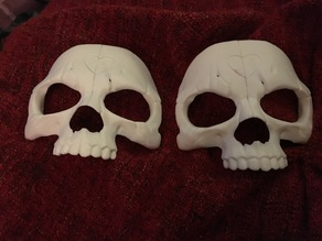 Skull Mask - 2 Piece