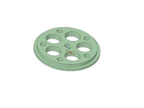 Filament Spool REDUCTION: 50 to 5mm  - CUSTOMIZABLE