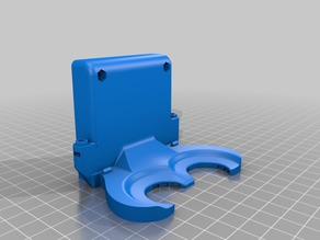 CTC Cooling Fan Duct 60mm fan (Dual Extrusor Version), Makerbot Replicator 1, Flashforge, Duplicator 4