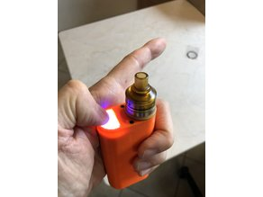 Squonk-MOD 18650 22mm Unregulated clickFED