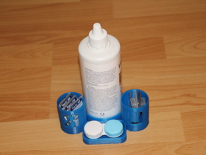 Contact lens station