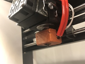Silicone Sock Mold for MP Select Mini & V5 style heatblocks.