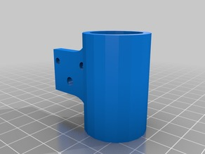 Half inch PVC pipe mounts for Geared Motor Robot Wheels