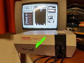 Nintendo NES Power or Reset Button