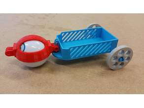Custom Sphero Chariot and Trailer. Completely customizable.