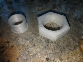 """1"""" BSP to 25mm pond pipe fitting"""