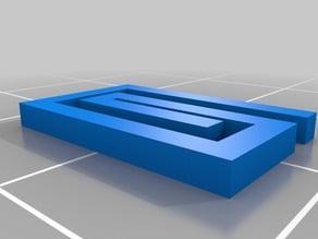 Mini Paper Clip (10 x 15 x 2.5mm)