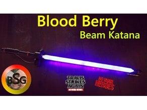 Blood Berry Beam Katana from No More Heroes / Travis Strikes Again