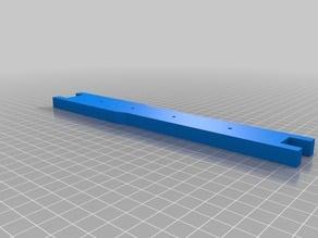 langstroth frame end for 3d printer and laser