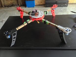 Quadcopter Center Hub