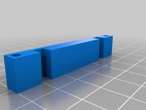 Simple RepRap LCD Standoff