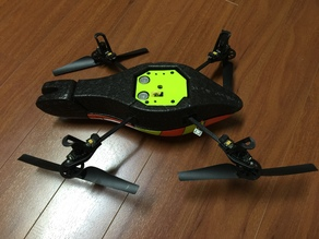 Parrot AR Drone 1.0 bottom cover plate for mirumod
