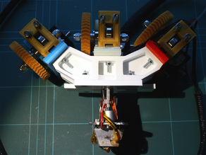 3-way Quick-fit Extruder and Colour Blending Nozzle