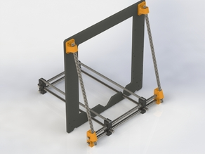 Prusa i3 Frame Brace