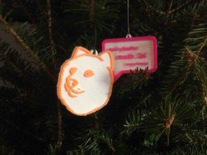 So Doge Xmas Ornament