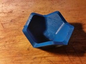 Half Dodecahedron Dipping Dish
