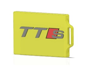 Audi TTS Badge/Card Holder