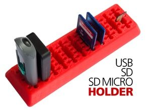 USB SD SD Mirco Holder Combined