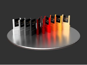 Colour-Material Filament Sample