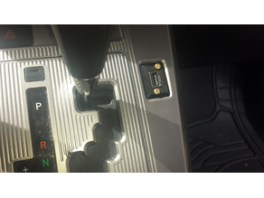 Scion XB USB Dash Plate