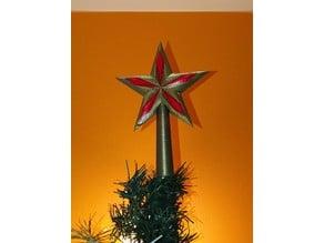 xmas tree star / etoile de sapin de noel