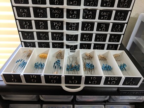 E24 Series Resistor Storage Solution