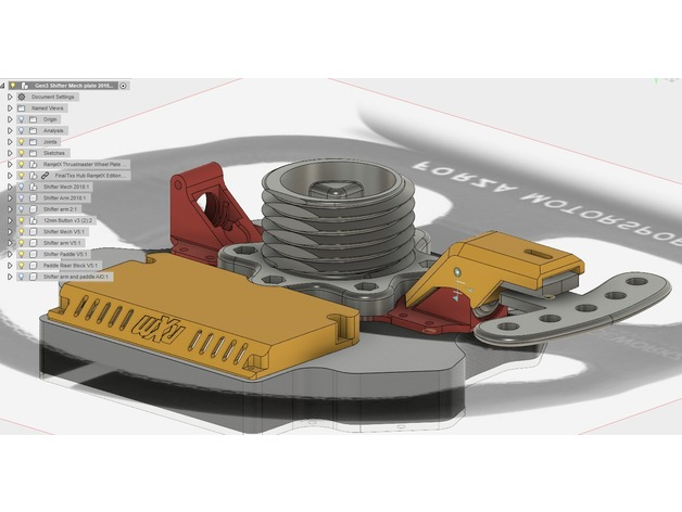 RamjetX - Magnetic Shifter Sim Racing by RamjetX - Thingiverse