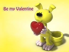 Be my Valentine Marsupilami