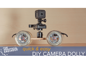 Quick and easy camera dolly