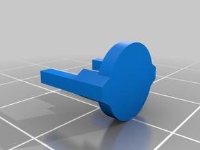 Auto-siphon fluttering valve