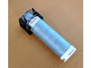 Thread spool and bobbin holder- single