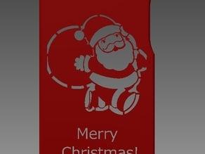 Iphone 5/4 Santa Claus