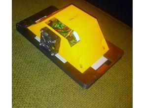 Raspberry Pi 7 inch touch screen case w/ fan