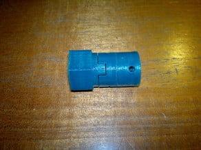 oldham Z coupler for RepRap with downside z motors