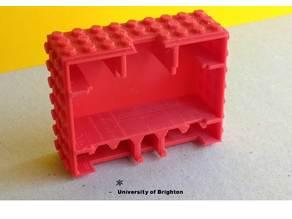 microbit + LEGO : Battery box