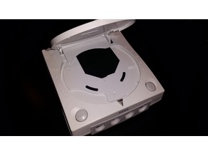 USB GDROM Hard Drive Mount Plate