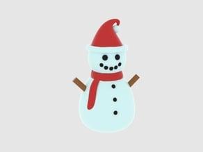 Snowman - Full Color (da Vinci Color)