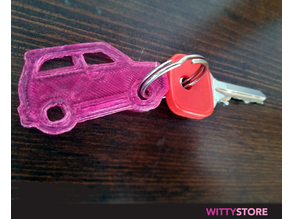 Super Car Keyring